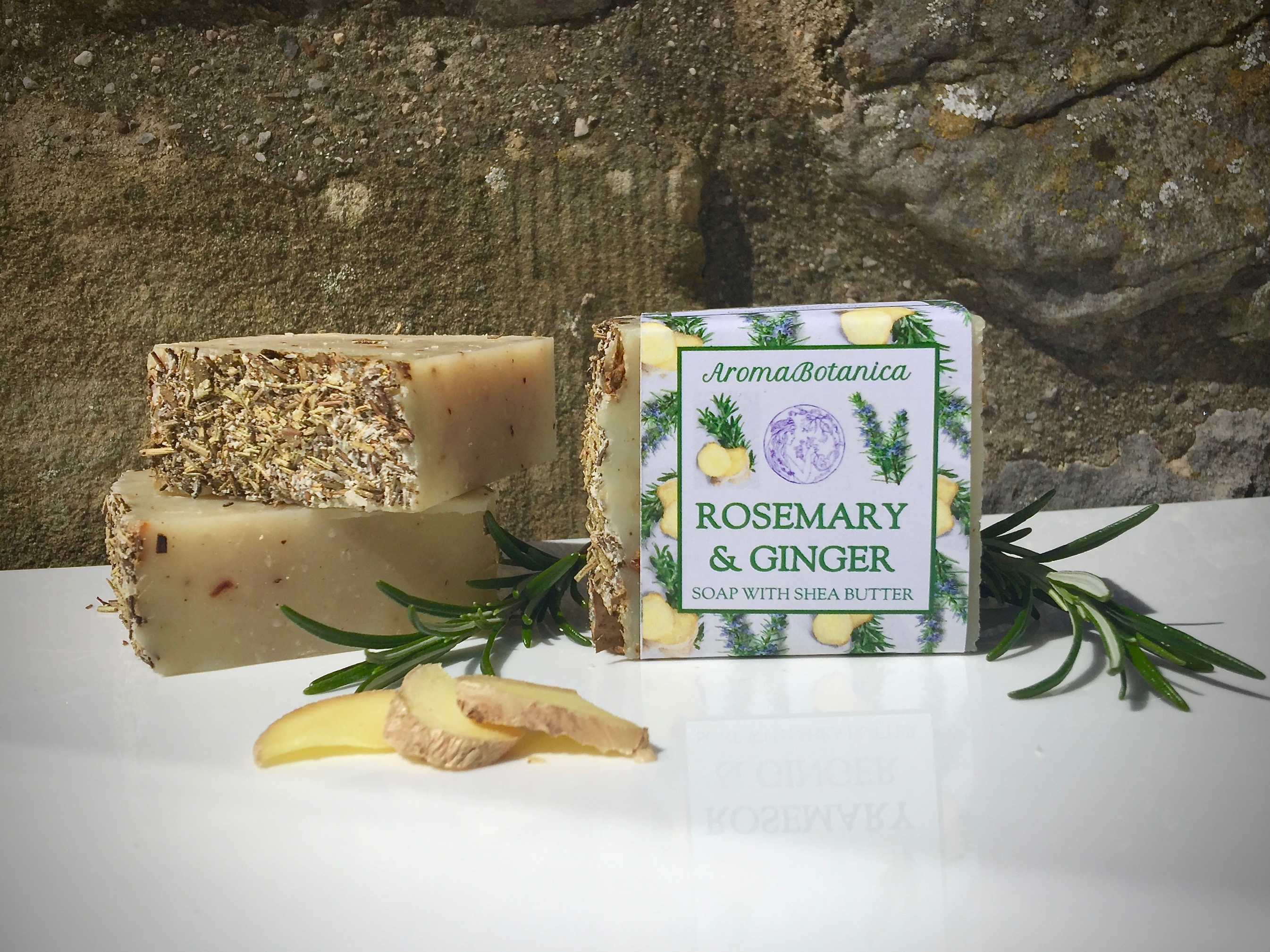 Fresh Air Soap – Rosemary & Ginger