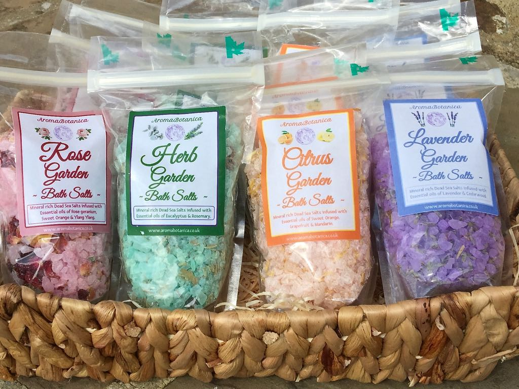 Scented Garden Bath Salts