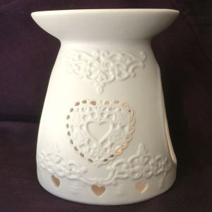 Oil Burner Heart Design