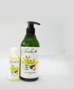 dầu gội thiên nhiên hoa bưởi chống rụng tóc hiệu quả