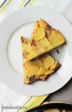 Klasická španělská tortilla z brambor