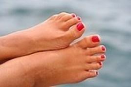 Sommerschön gepflegte Füße