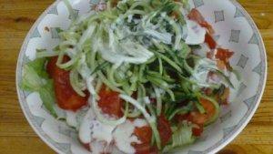 grüner Salat