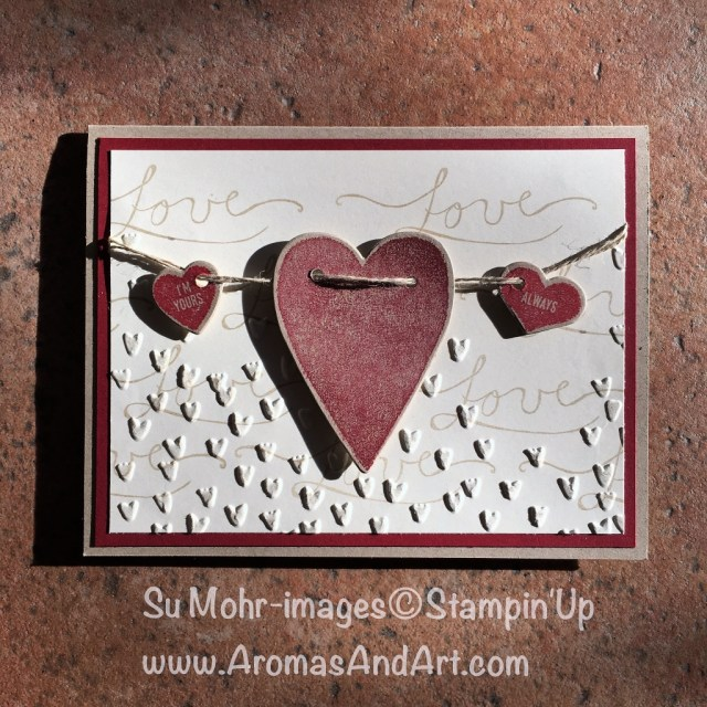 By Su Mohr for tttc032; Click visit to go to my blog for details! Featuring: Sure Do Love You, Lots To Love Box, Weather Together, Wink of Stella, Falling Petals; #suredoloveyou #valentinecards #lotstolovebox #weathertogether #winkofstella #tttc032