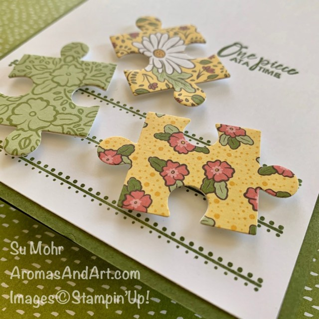 By Su Mohr for its; Click READ or VISIT to go to my blog for details! Featuring: Love You To Pieces Stamp Set, Puzzle Pieces Dies, Swirly Frames Stamp Set, Ornate Garden DSP; #ornategarden #puzzlepieces #loveyoutopieces #stamparatus #swirlyframes #jigsawpuzzles #lastchanceproducts #stampinup #handmadecards #cardmaking #handcrafted #diy #cardsketches
