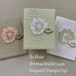 By Su Mohr for FMS; Click READ or VISIT to go to my blog for details! Featuring: Poppy Moments Dies, Stitched So Sweetly Dies, Timeless Tulip Stamp Set, Tasteful Textile embossing, Greenery embossing; #poppymoments #tastefultextile #greeneryembossing #poppies #poppiesoncards #flowersoncards #cardsketches #cardchallenges #colorcombinations #handmadecards #handcrafted #diy #cardmaking #papercrafting #stampinup #friendshipcards