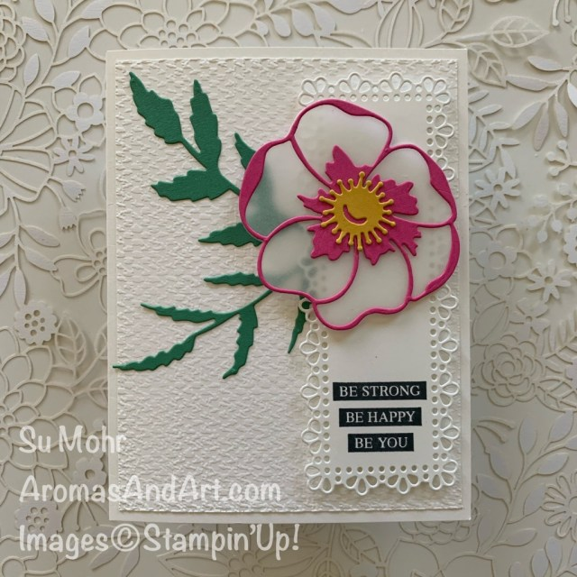 By Su Mohr for Global Design Project; Click READ or VIUSIT to go to my blog for details! Featuring: 2020-2022 In Colors, Tasteful Textile embossing, Ornate Layers Dies, Poppy Moments Dies, Rooted In Nature Stamp Set; #gdp245 #poppies #poppiesoncards #incolors #stampinup #flowersoncards #poppymoments #handmadecards #handcrafted #diy#cardmaking #papercrafting #cardchallenges #colorcombos