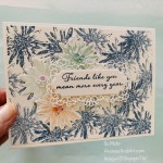 By Su Mohr for GDP Design Team; Click READ or VISIT to go to my blog for details! Featuring: Positive Thoughts stamp set, Nature