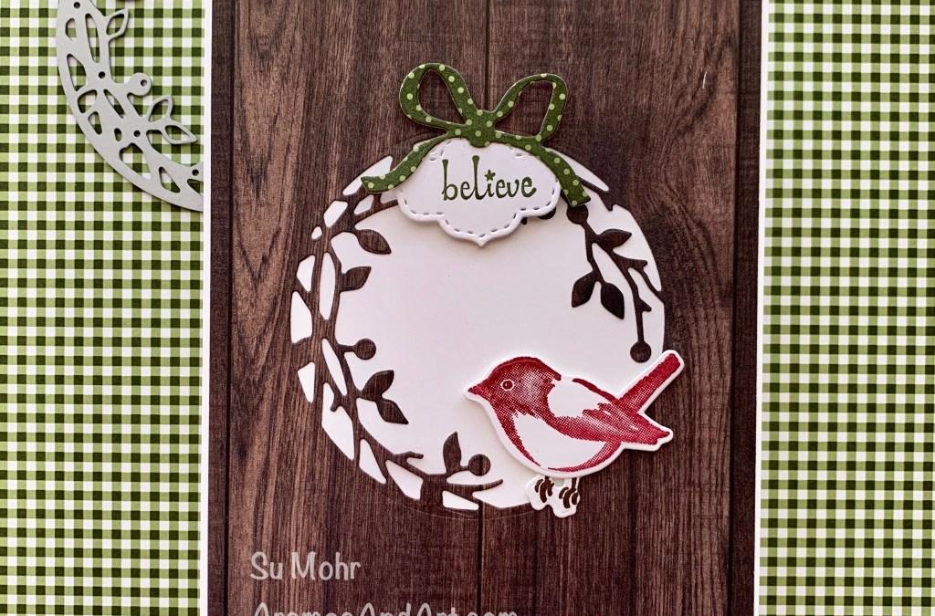Little Red Christmas Bird