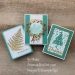 By Su Mohr for Stamping Sunday; Click READ or VISIT to go to my blog for details! Featuring: Forever Gold Specialty Paper,Winter Snow embossing, Ornate layers Dies, Word Wishes Dies, Pine Woods Dies, Nature