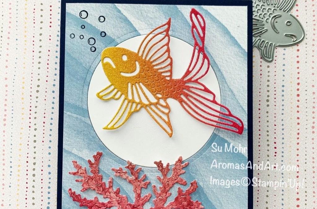 Seascape Stamp Set & Sea Life Dies