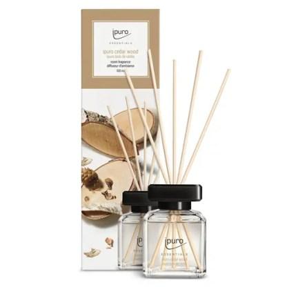 cederboom, ceder wood, ipuro, geurstokjes, essentials,
