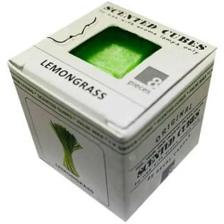 lemongrass, scented cubes, waxmelts, scentchips,