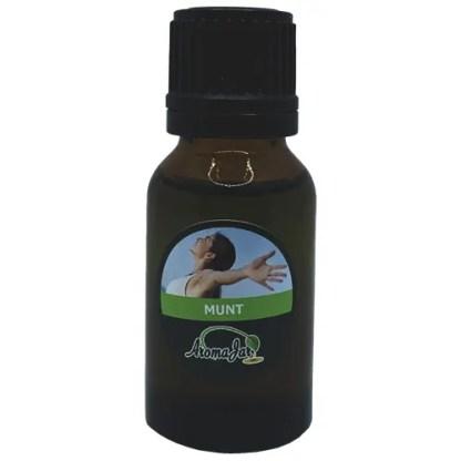 munt, mint, aromajar, etherische olie, diffuser oil, geurbrander olie, oliebrander olie,