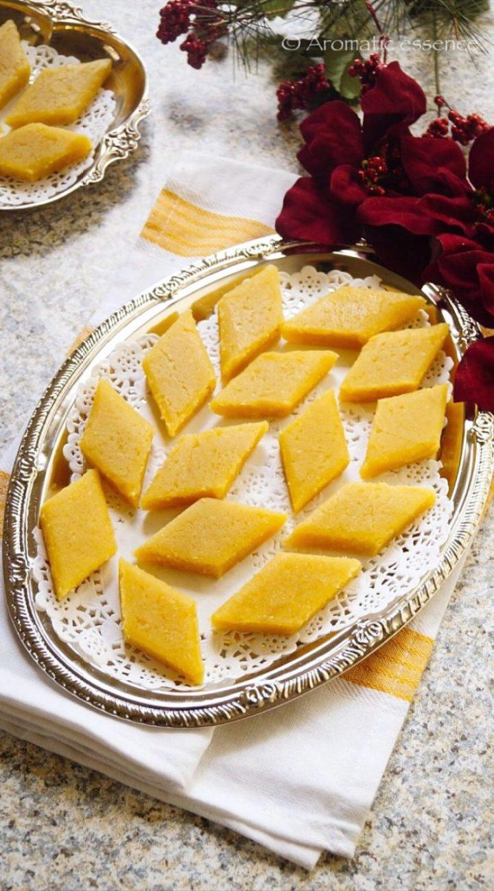 Goan Doce Recipe | Doce De Grão | Chana Dal Fudge