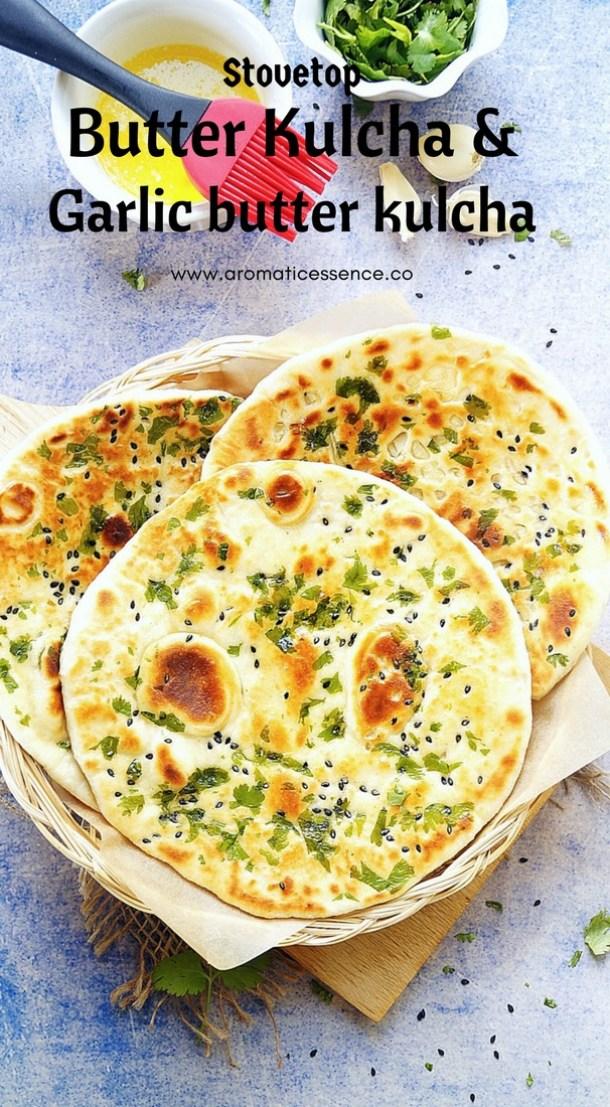 Kulcha Recipe On Tawa | How To Make Kulcha (No Yeast ...