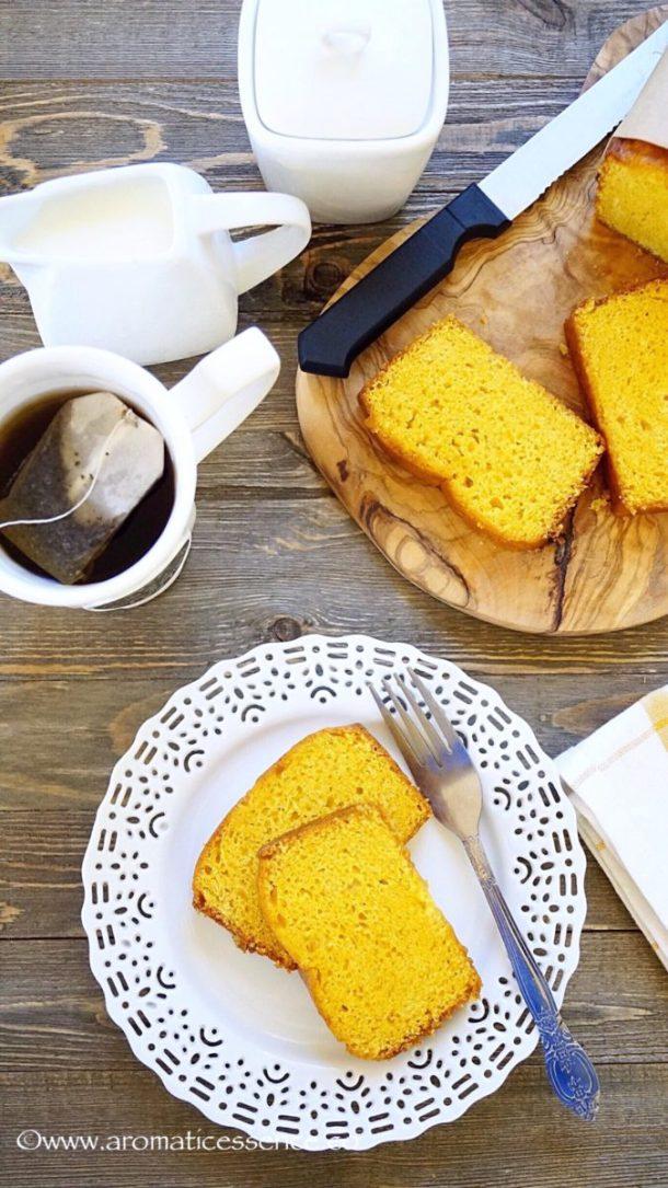 Eggless Mango Cake   Eggless Mango Loaf Cake