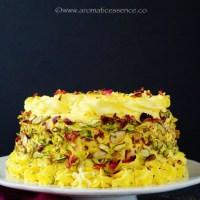 Rasmalai cake | Eggless Rasmalai Cake
