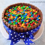 Kit Kat Cake Recipe From Scratch | M&M's Cake | Candy Cake