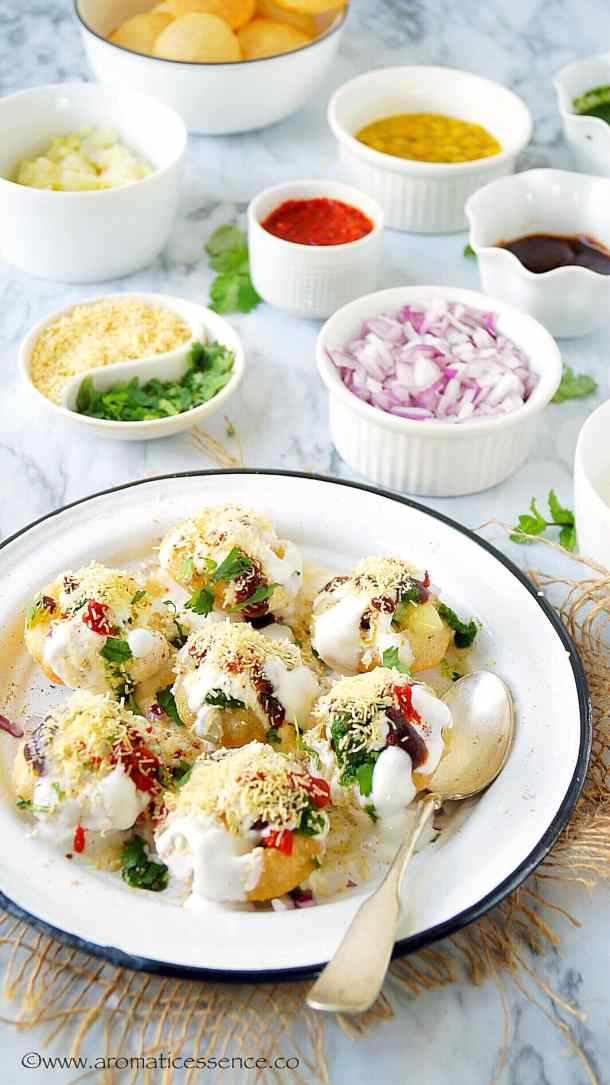 Dahi Puri Recipe | How To Make Dahi Puri