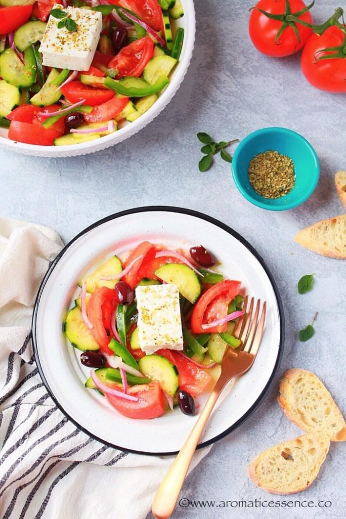 Horiatiki Salad