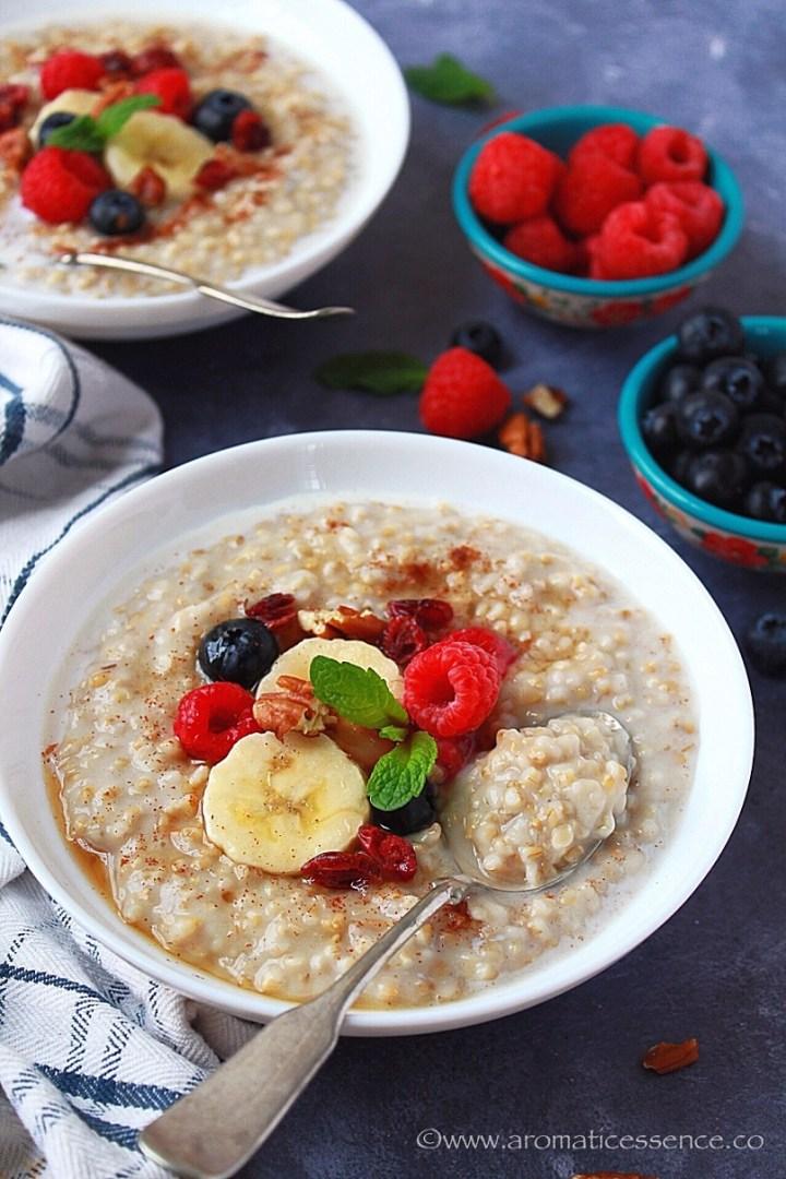 pressure cooker oats