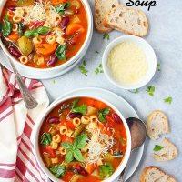 Instant Pot Minestrone Soup Recipe