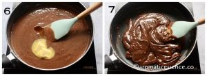 add butter and vanilla extract