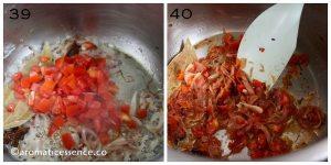 Softened tomatoes