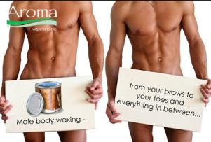 aroma waxing clinic male body waxing manscaping brazilian wax