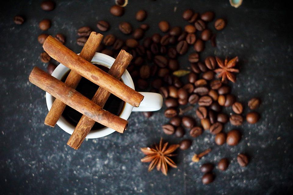Café, canela, vainilla y chocolate …. mmmm….