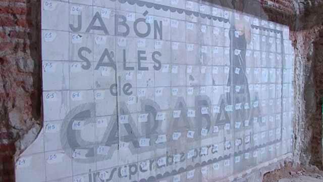 Patrimonio cultural: el anuncio de Jabón de Sales de Carabaña