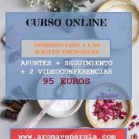 CURSO DE INTRODUCCIÓN A LOS ACEITES ESENCIALES
