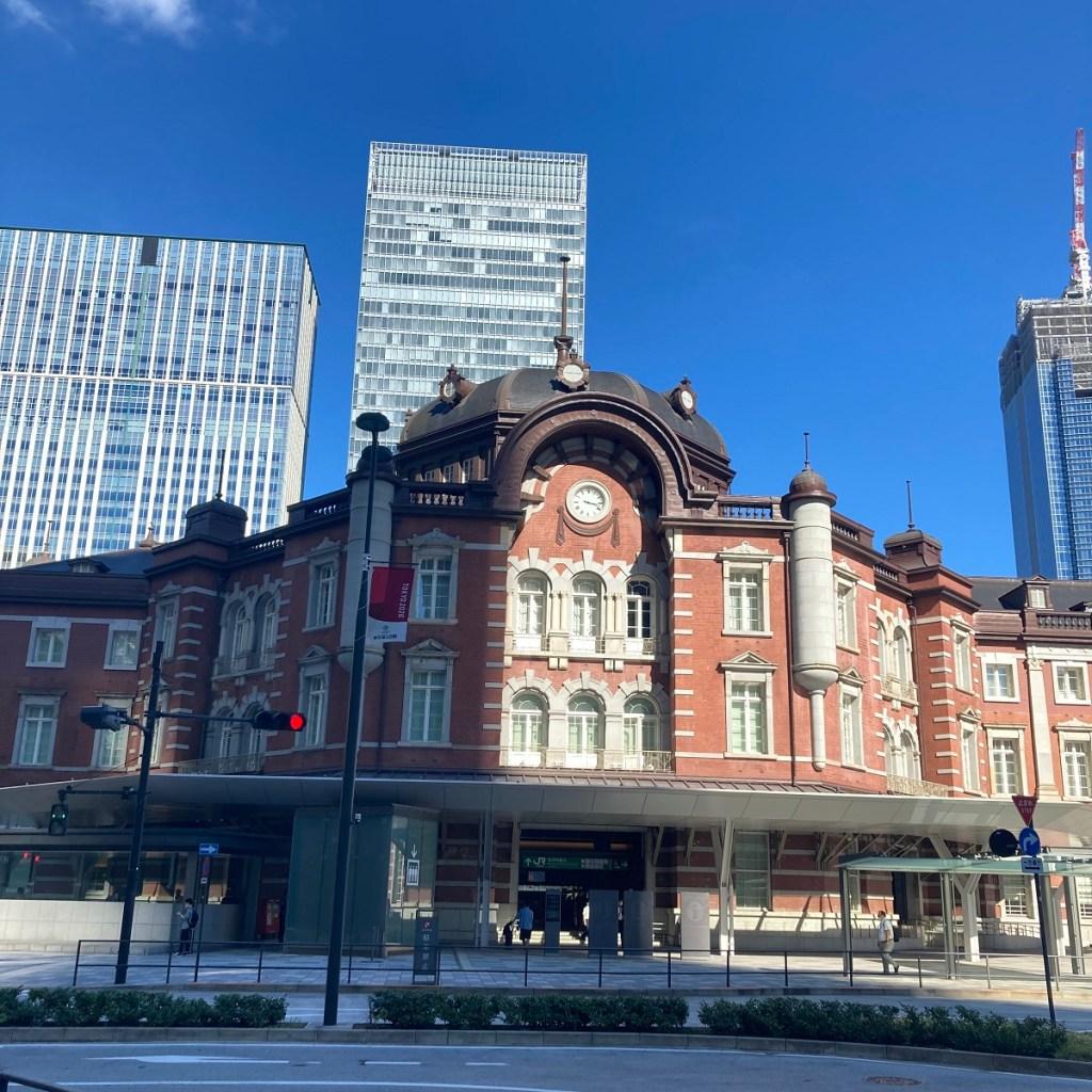 東京駅丸の内北口のクラッシックな外観