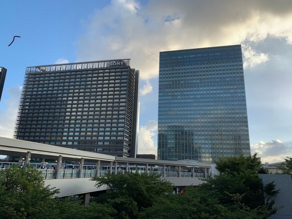 ThinkPark-Towerとソニーシティ大崎