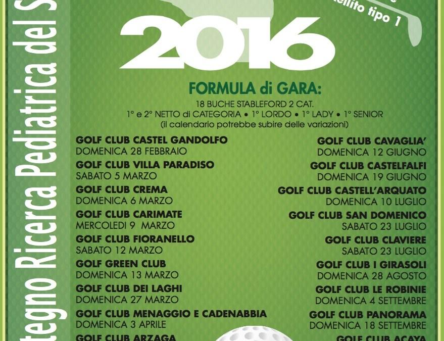 Trofeo Sostegno Ricerca Pedriatica del San Raffaele