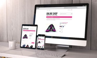 devices responsive with online shop
