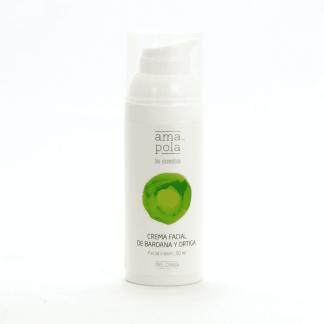 Crema facial-Bardana y ortiga 50ml - grasa