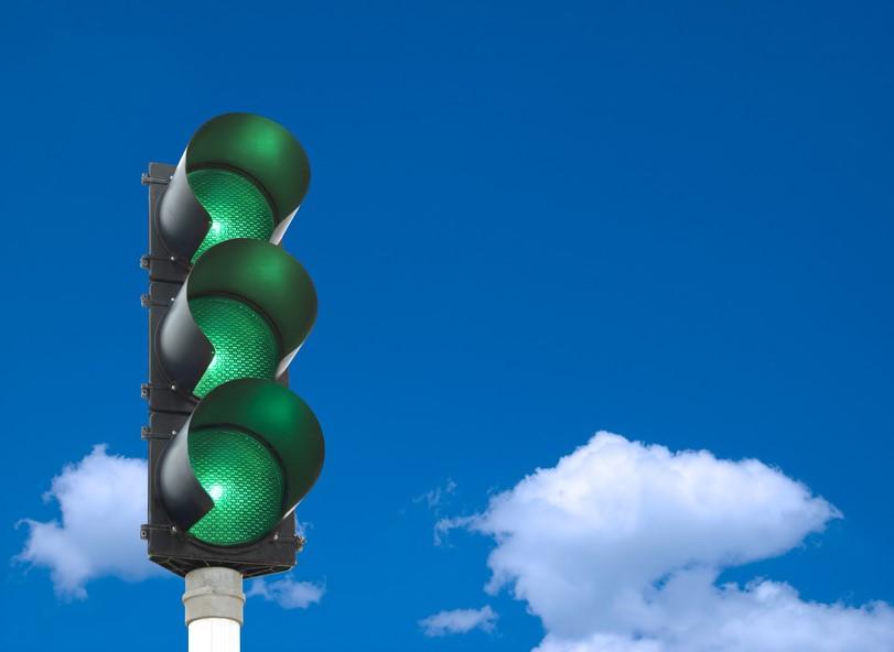 green traffic lights mentoring