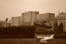 Transnistria, Tiraspol, december 2012