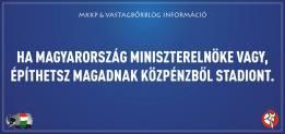"""""""Se sei il primo ministro ungherese puoi costruirti uno stadio con soldi pubblici"""""""