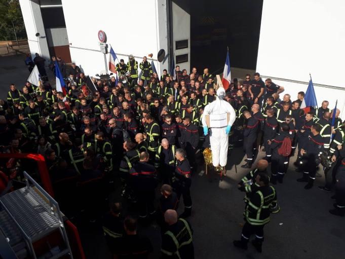 pompiers gréve