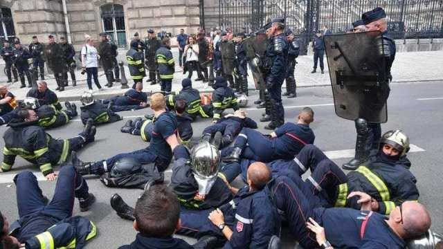 pompiers lyon crs