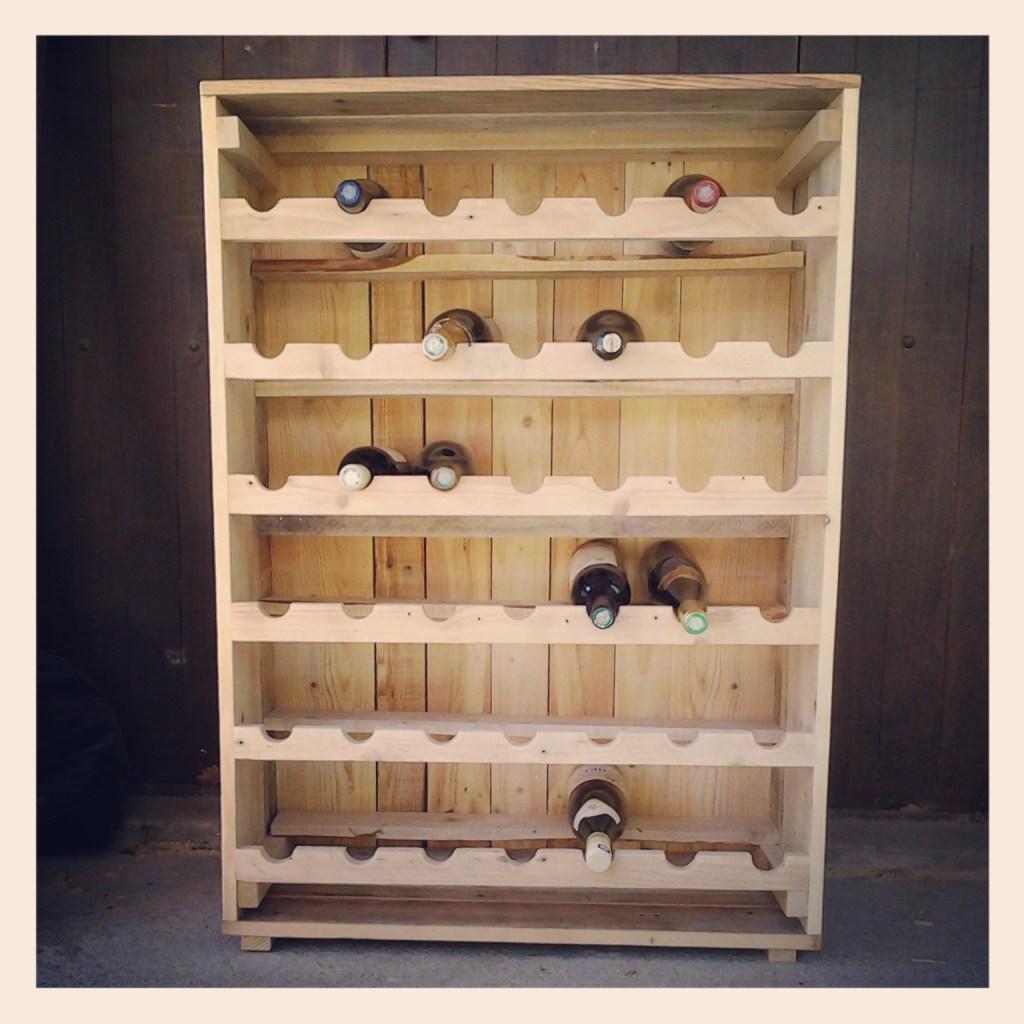 Construire Un Meuble À Chaussure cave à vin en palettes - aronews