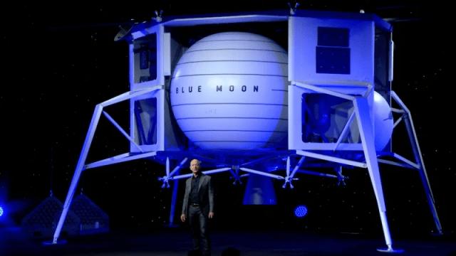 «Blue Moon», un atterrisseur lunaire