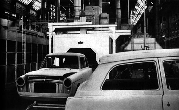 Production line: Visitors to the Innocenti plant in Milan were always apt to remark on how clean and tidy the factory was, and how efficiently it operated.