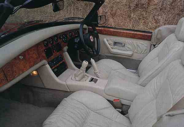 The interior of the RV8 was somewhat removed from that of the original MGB - luxury had replaced purposefulness, and where once resided crackle black on the dashboard there was deep, deep wood...