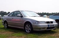 Rover 200 Coupe - Richard Jessett