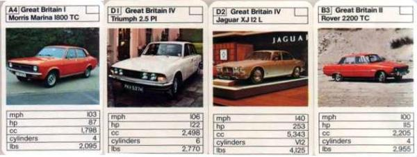 "More ""British Cars vs. French Cars"" - I think those early Marina TCs look really bold with all that black detailing."