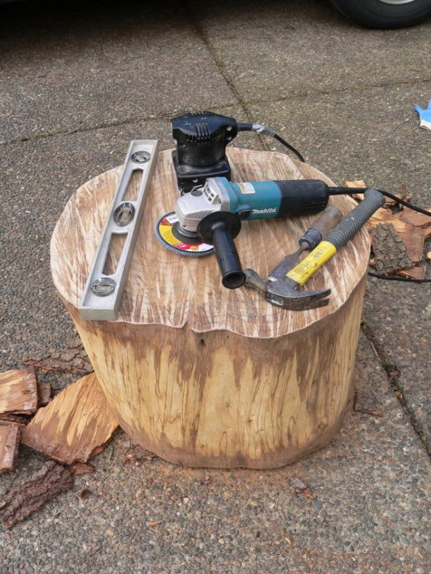 Diy Tree Stump Projects Plans DIY How To Make Six03qkh